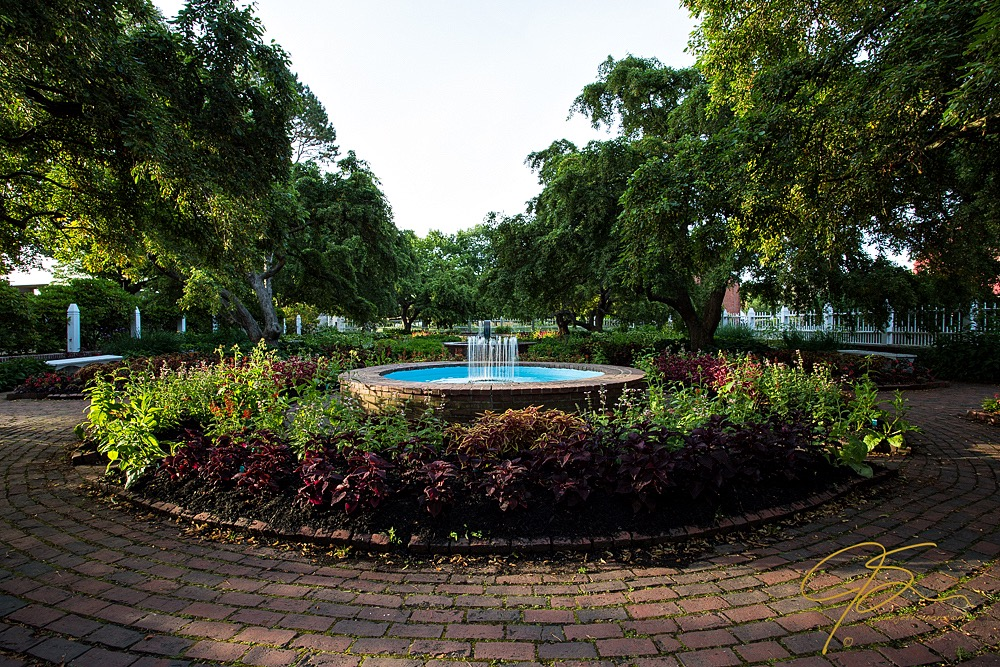 Fountain image at EV +1