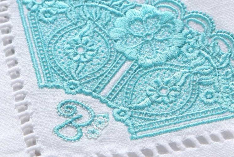 machine embroiderery