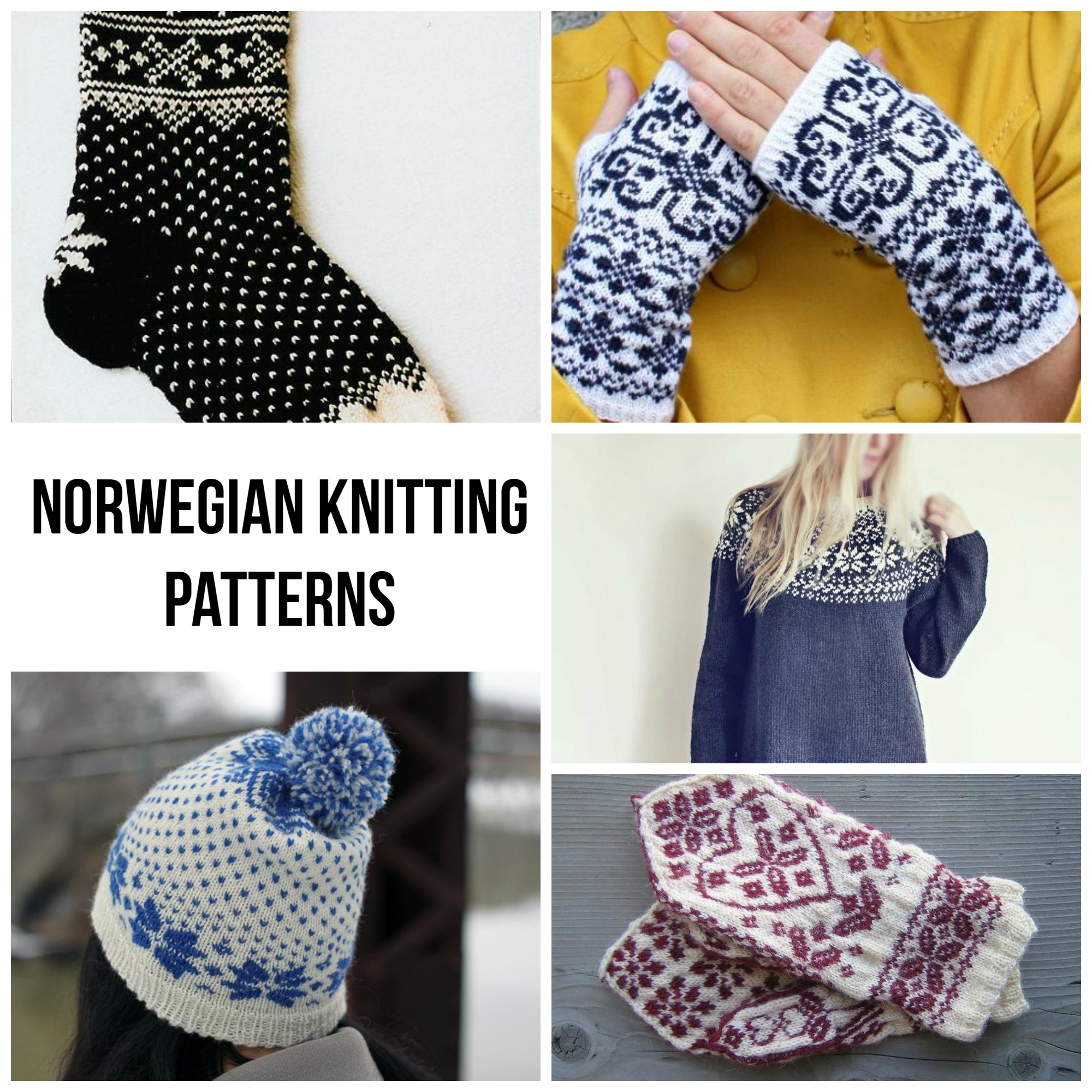 Norwegian Knitting Patterns