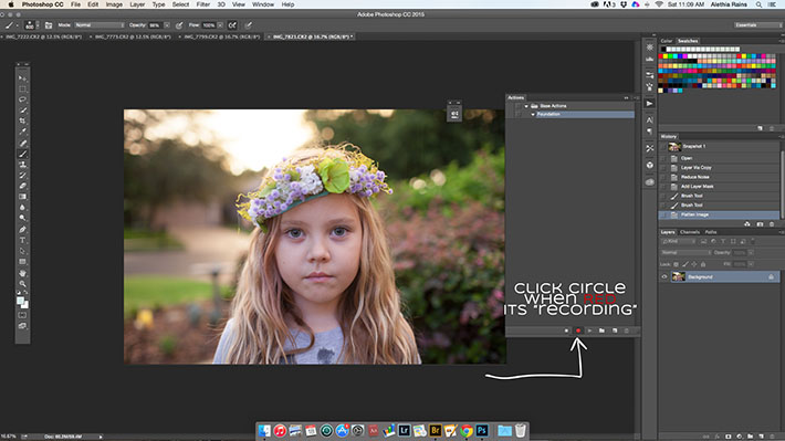 Record an Action in Photoshop
