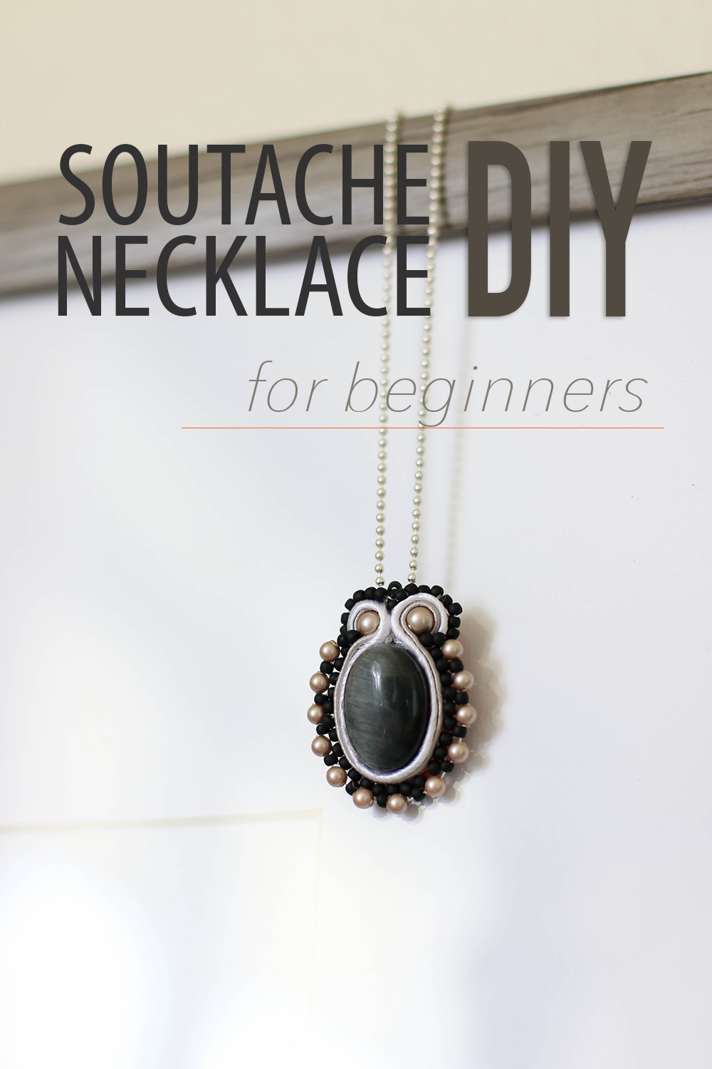Soutache Necklace tutorial-finished project feature