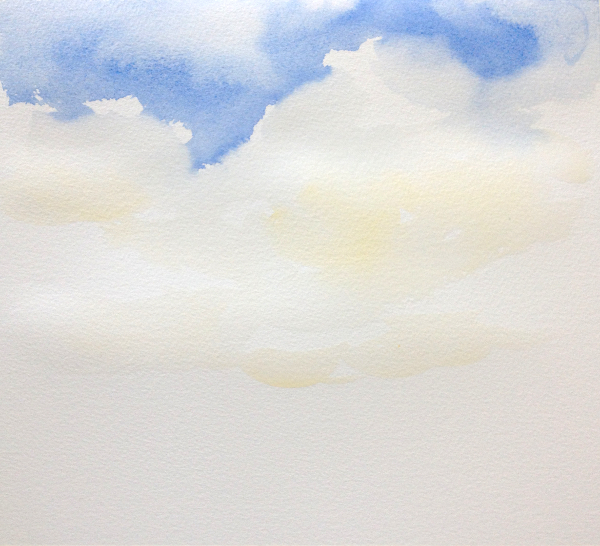 Sky Painting Step 2
