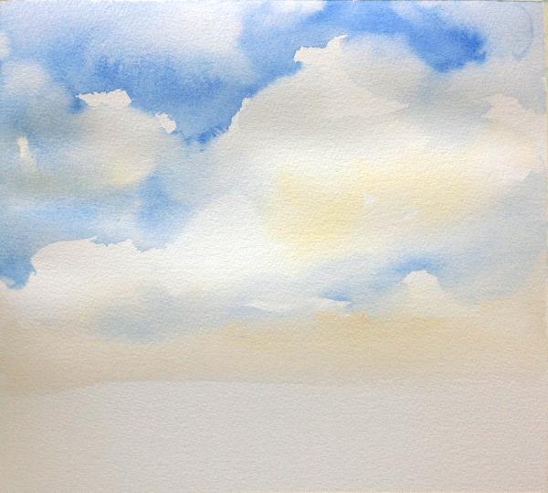 Sky Painting Step 3