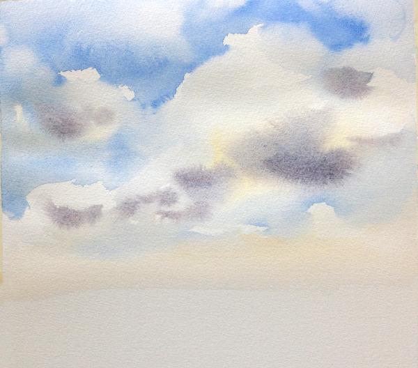 Sky Painting Step 4