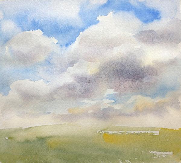 Sky Painting Step 5