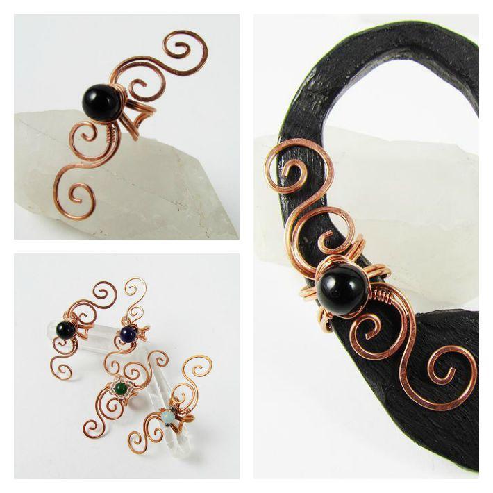 Swirly Ear Cuff Tutorial
