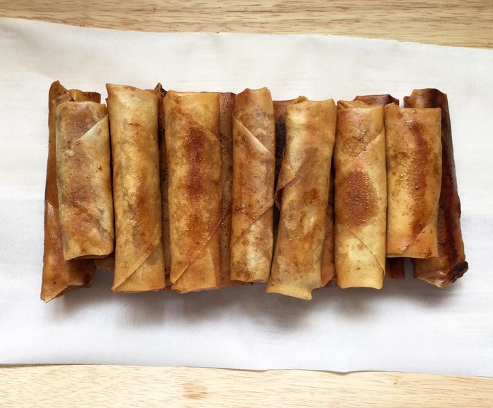 Turon Recipe Cooling