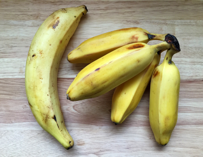 Plaintain and Saba Bananas