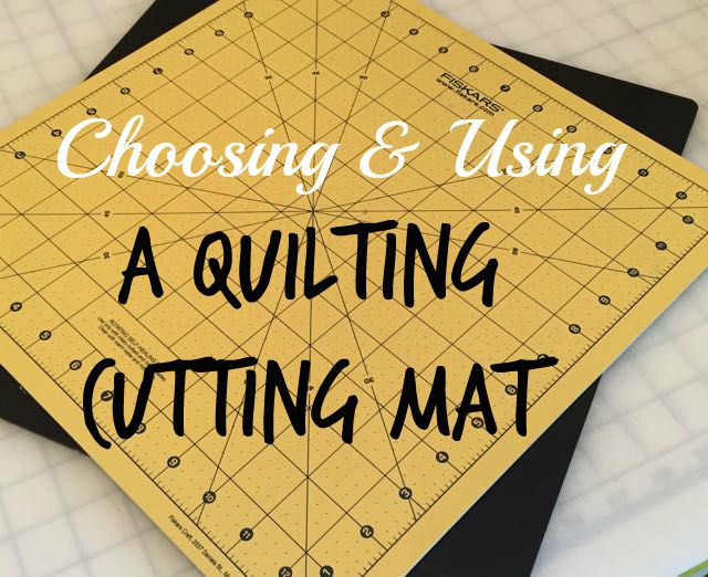 choosing a cutting mat