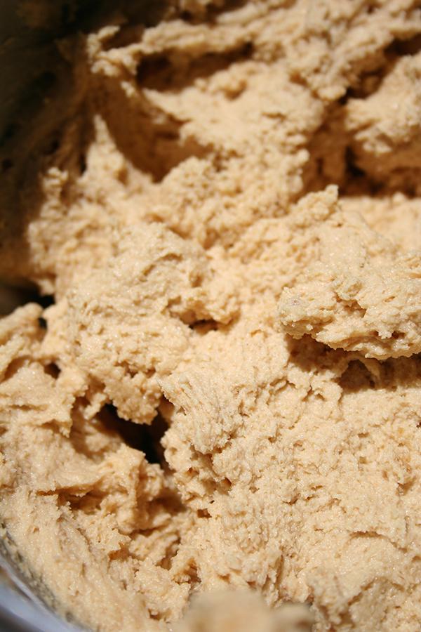 Thick dough