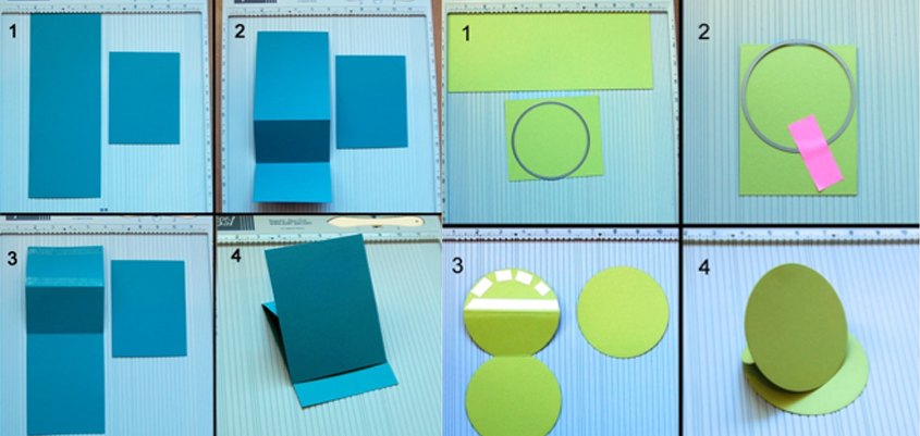 step by step folding cards tutorial
