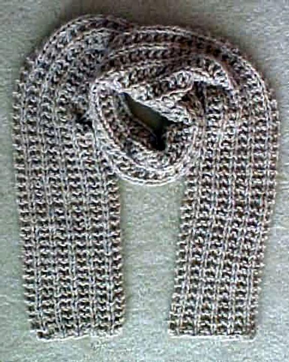 Quick Knit Gift Scarf Knitting Pattern