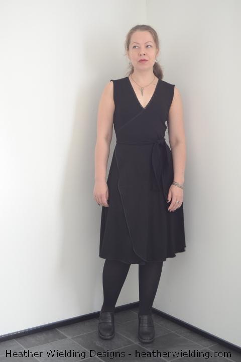 Sleeveless Wrap Dress