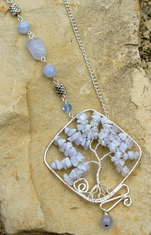 Blue lace agate tree of life by Bluprint user holly.ross.05