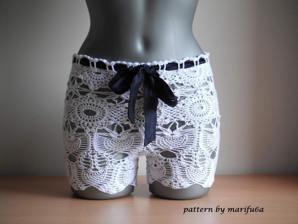 Crochet Summer Shorts Pattern