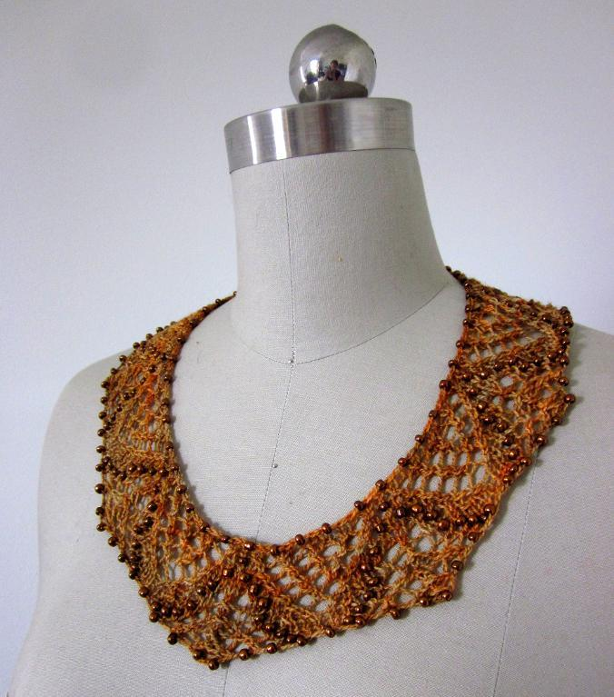 Saqqara Necklace Knitting Pattern