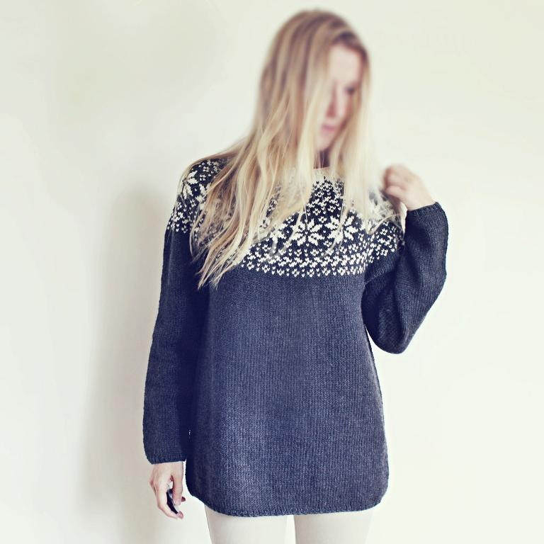 Norwegian Woods Sweater Knitting Pattern