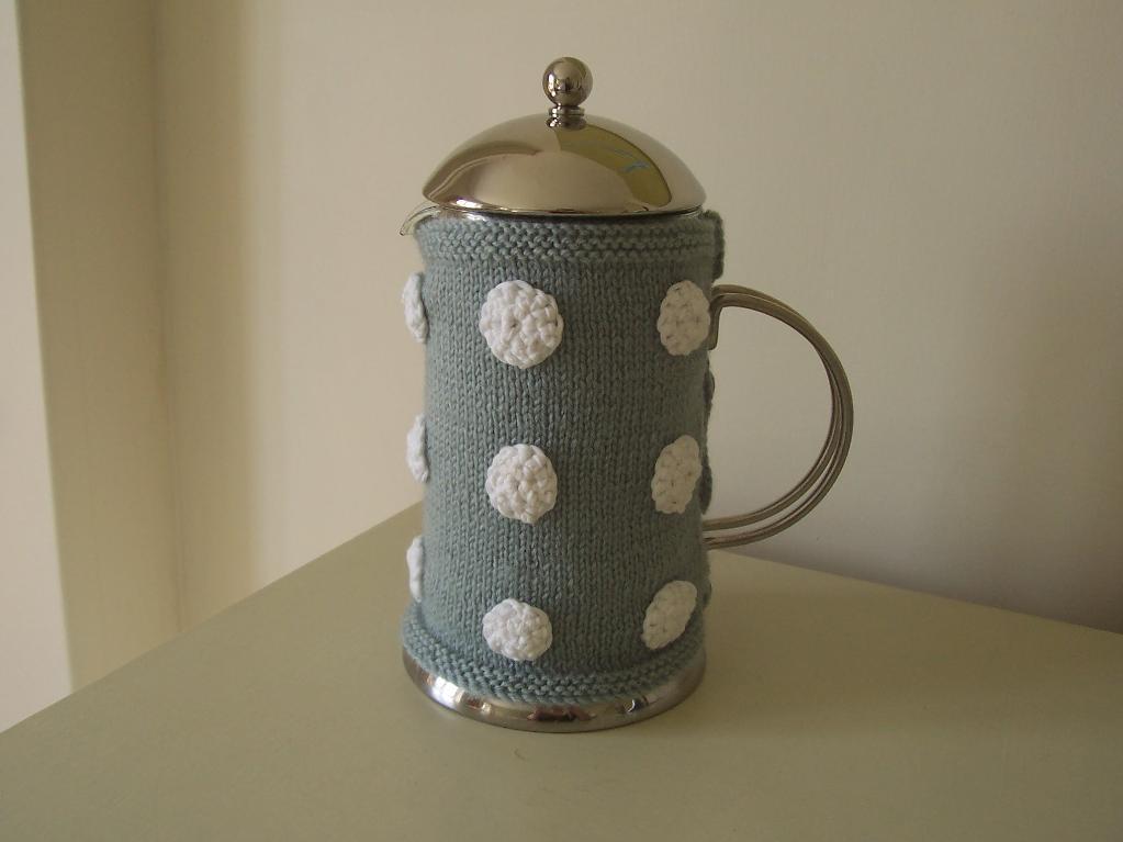 Dottie Cafetiere Cosy Knitting Pattern