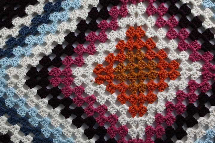 Afghan Detail Crochet