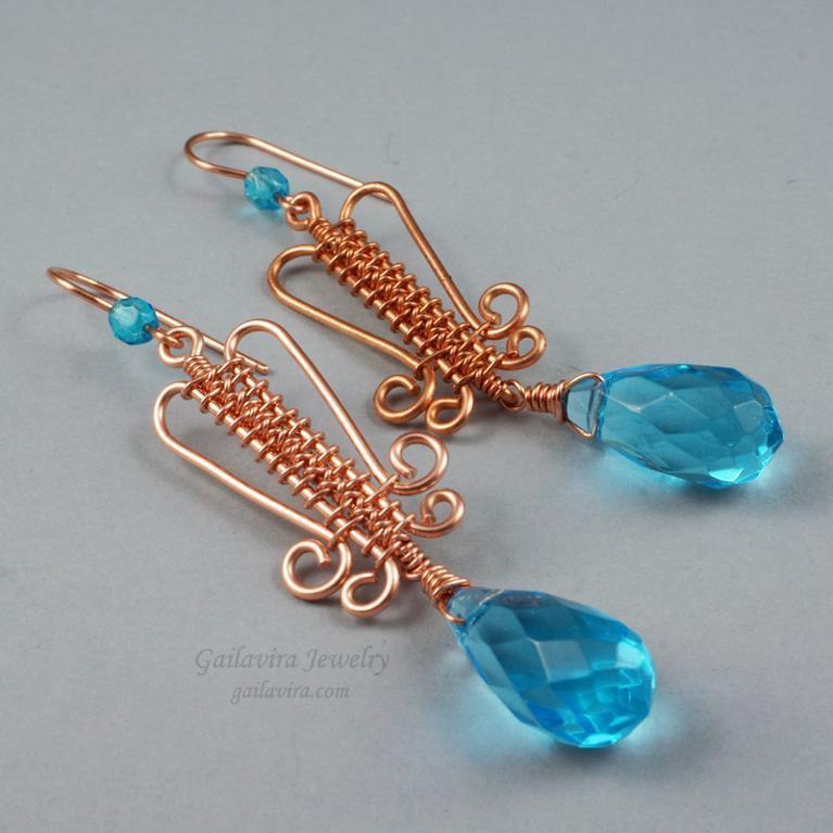 Archer's Weave Earrings Jewelry Pattern