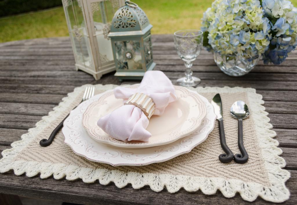 Heirloom Placemats Knitting Pattern