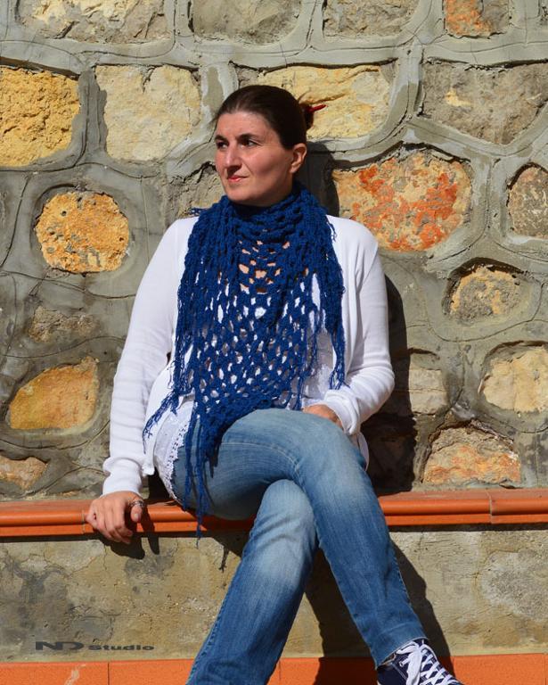 Hippy Scarf FREE Crochet Pattern