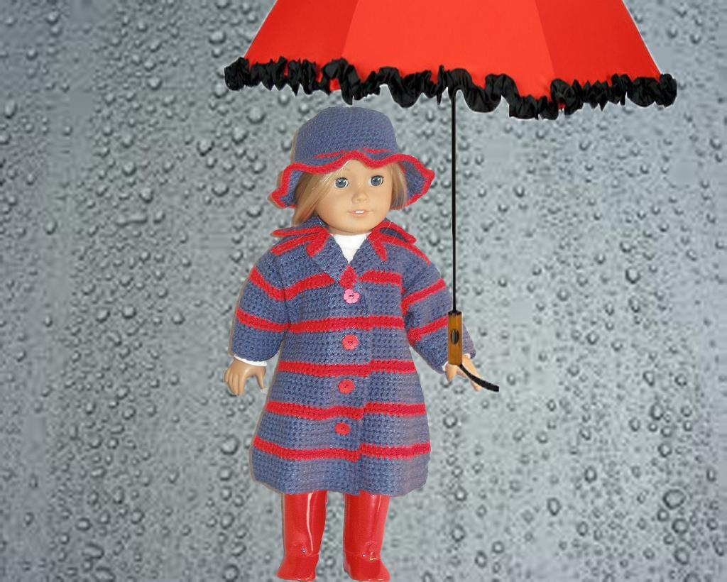 Singing in the Rain Doll Crochet Pattern