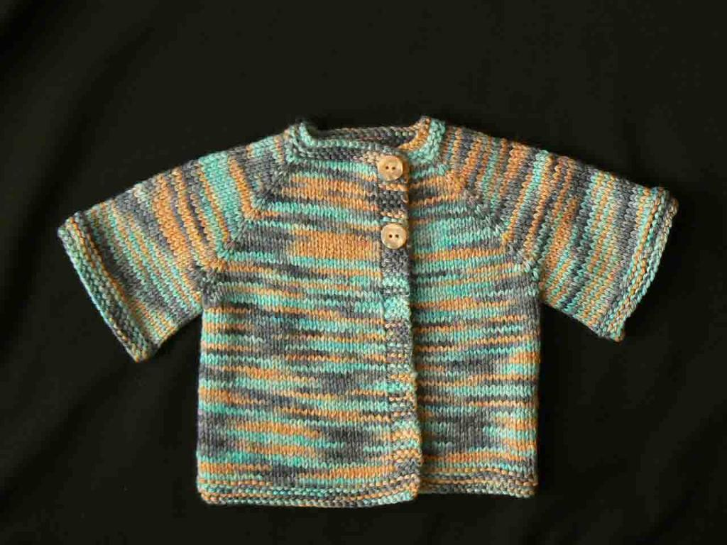 Paxton Preemie and Newborn Jacket FREE Knitting Pattern