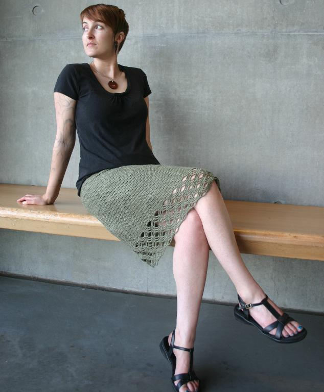 Breezeway Skirt Crochet Pattern