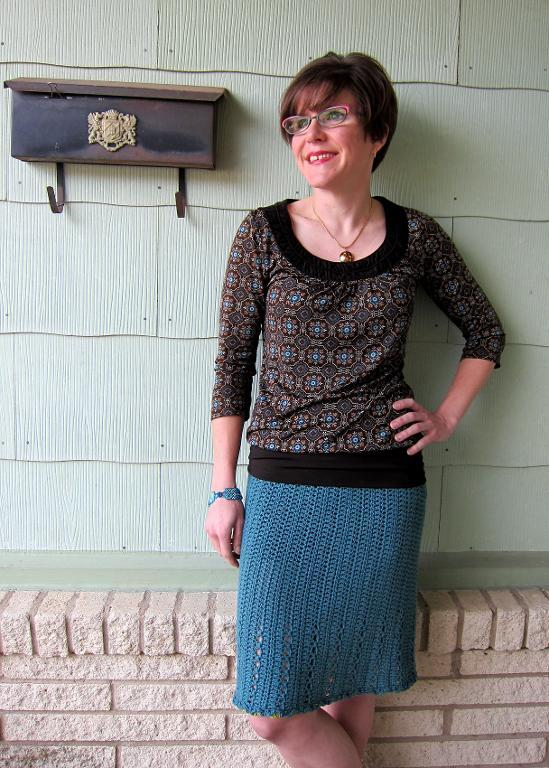 Lace Skirt Crochet Pattern