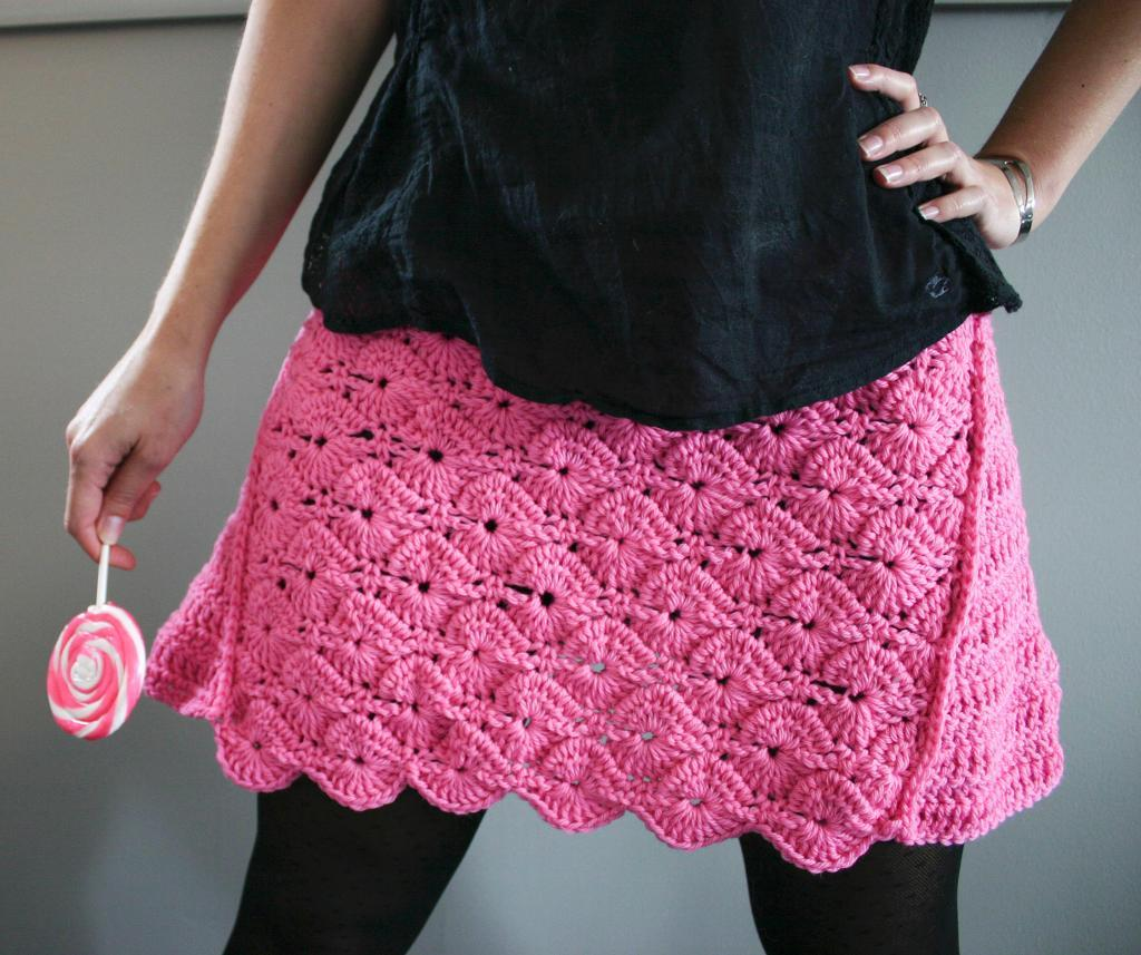Lollipop Skirt Crochet Pattern