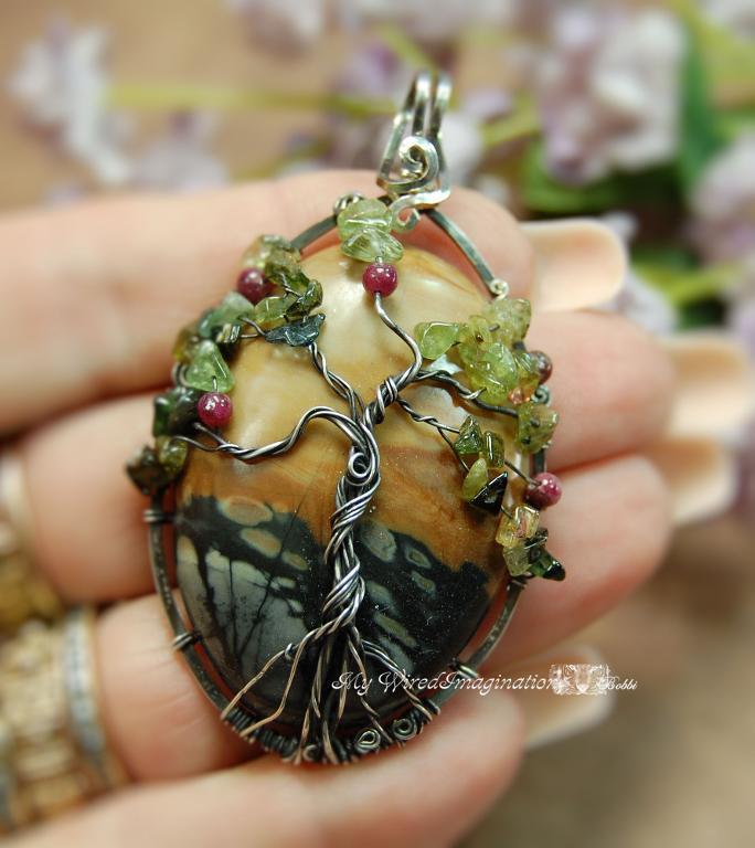 Bonsai Tree of Life Handmade Pendant by Bluprint user BobbiWired
