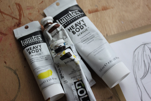Paints for painting hair