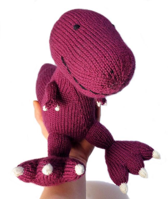 Hektor the Tyrannosaurus Dinosaur Knitting Pattern