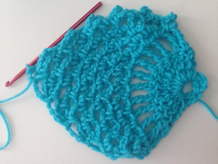 Finished Pineapple crochet Stitch