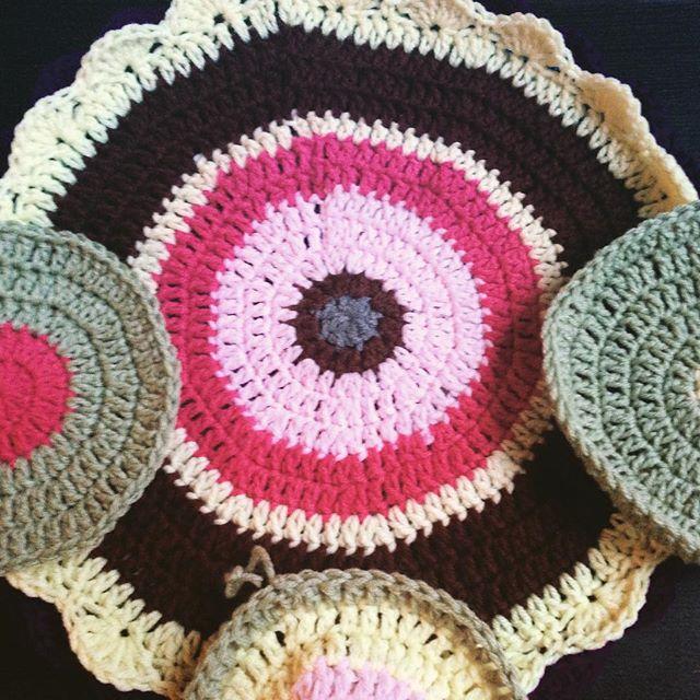 Crochet Mandala for Marinke