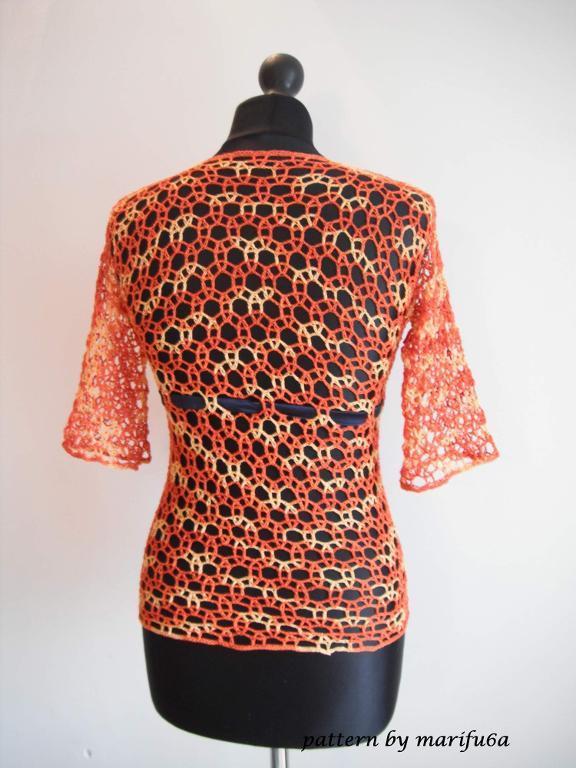 Crochet Mesh Shirt