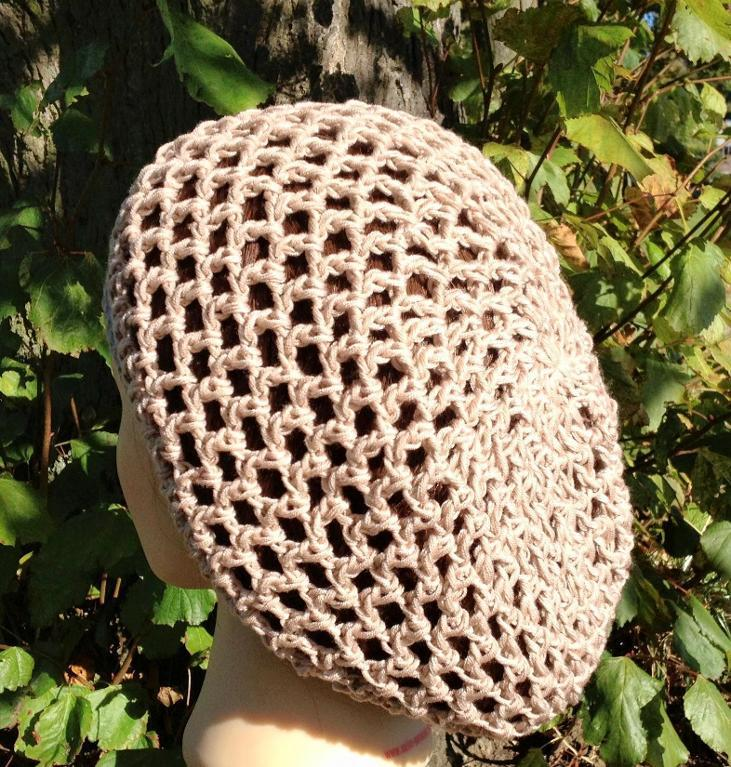 Crochet Openwork Beanie