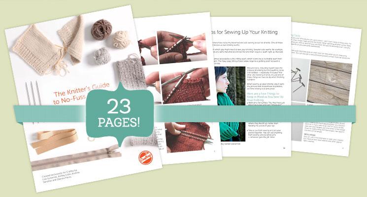 Finishing Knitting Guide