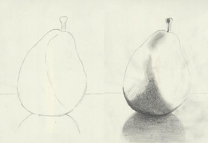 Pear shading