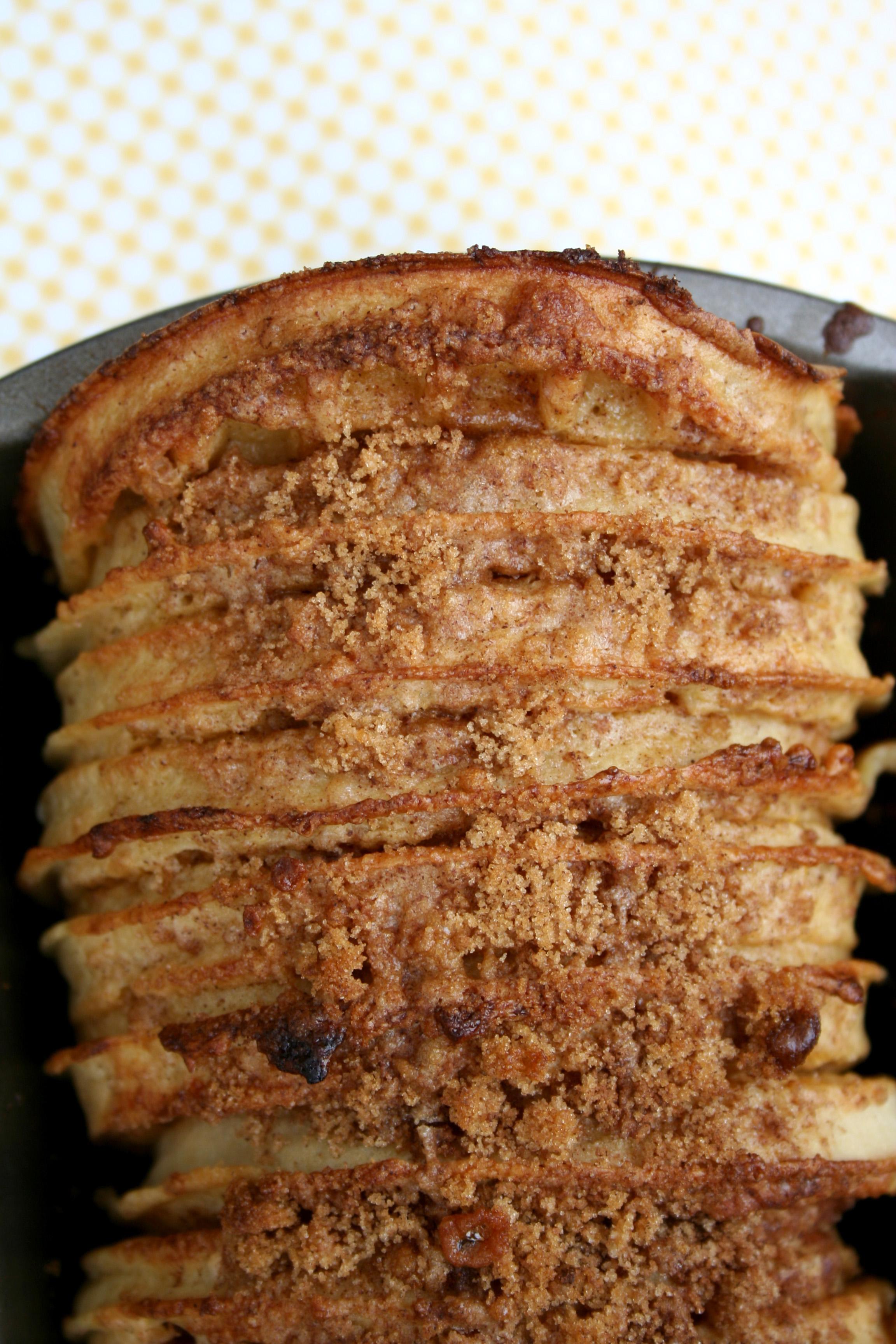 Waffle bread