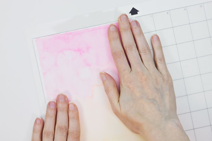 How to Watercolor with Pigment Ink, Step 5