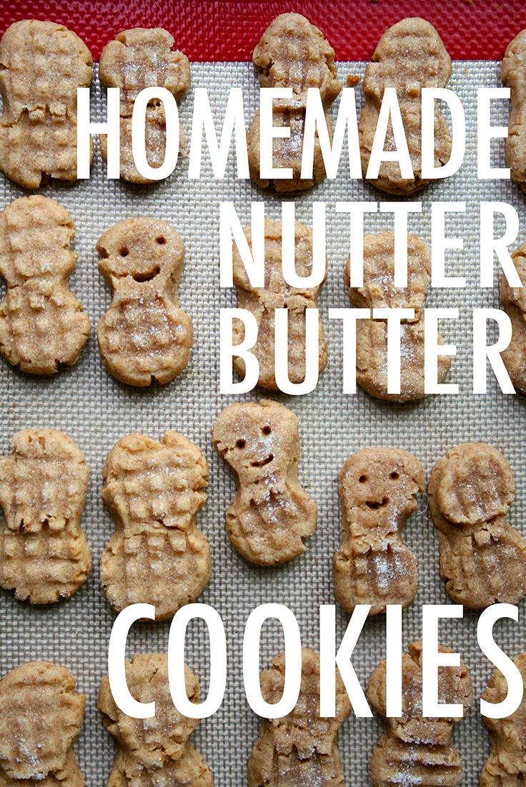 DIY nutter butter cookies