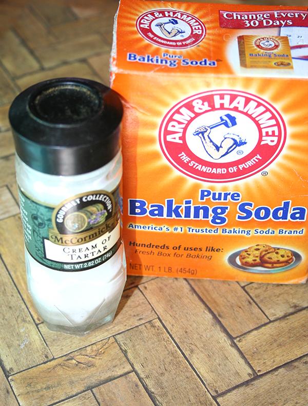 Baking powder DIY