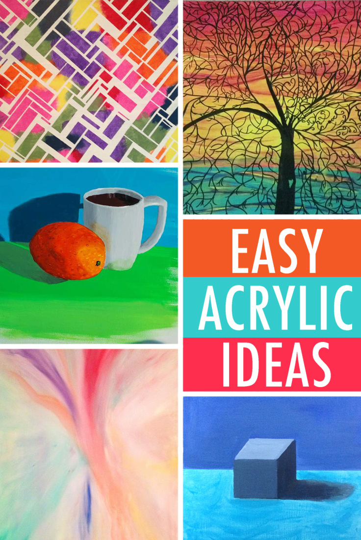 Easy painting ideas you can try right now!