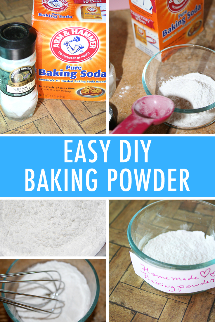 Easy DIY baking powder