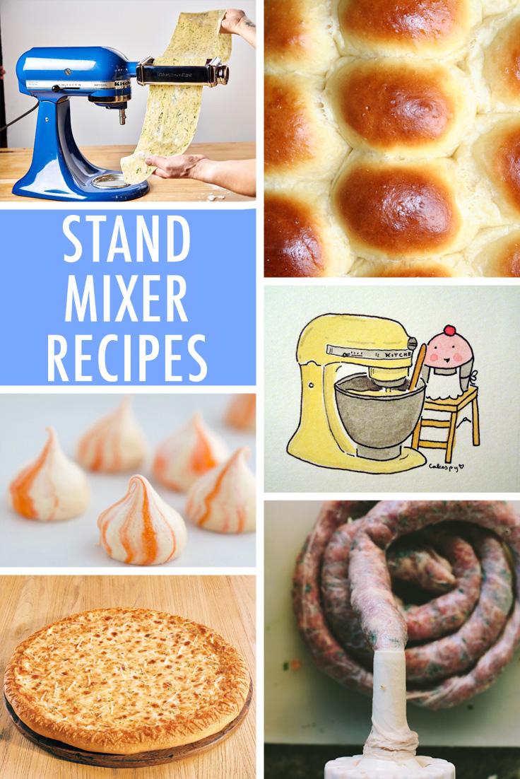 Stand mixer recipes