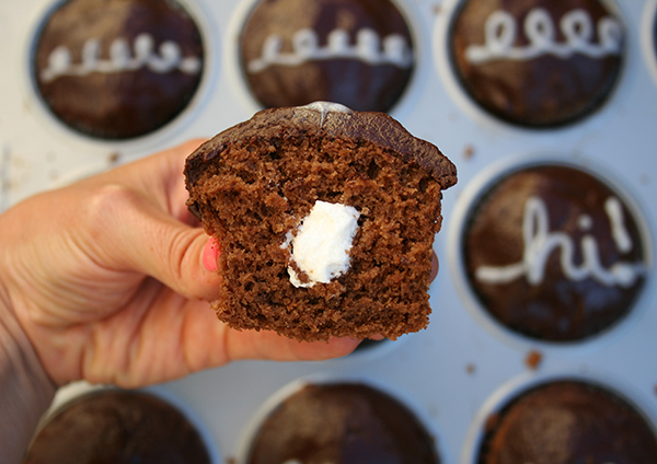 DIY Hostess Cupcakes