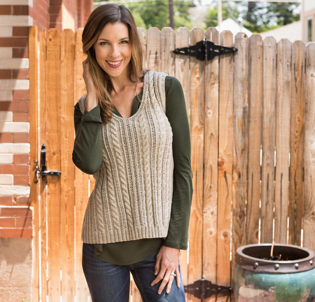 Laurien Vest Kit for Knitting