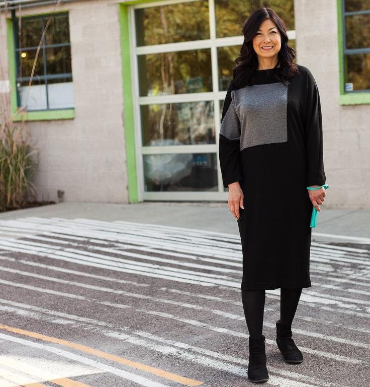 Mod Block Sweater Dress Kit